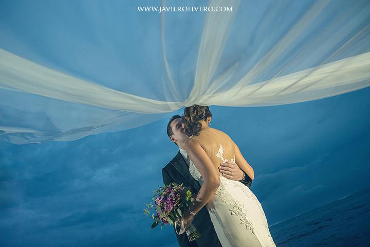 Caribe Hilton wedding