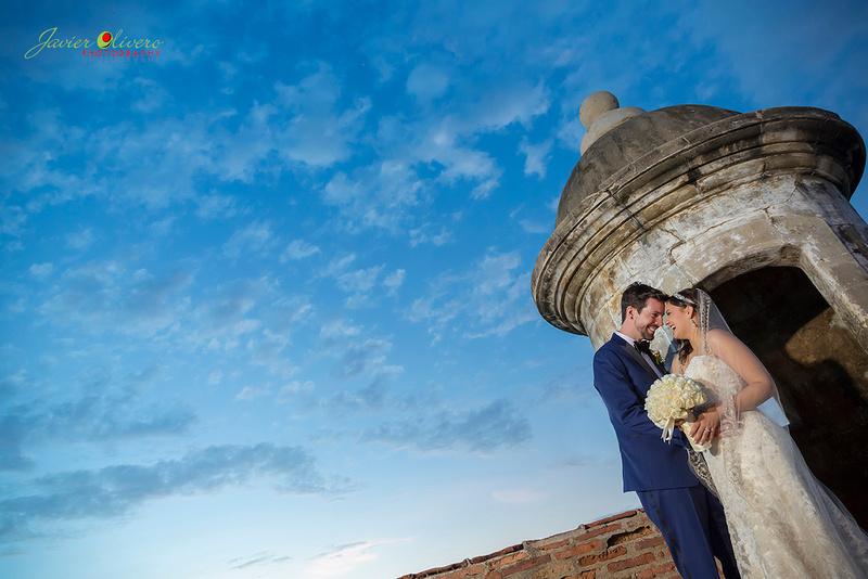 Scott & Areliz Wedding @ Casa de España San Juan, Puerto Rico