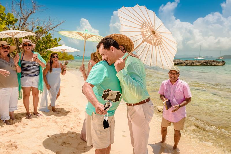 Olga & Javier 20th wedding anniversary-En altamar- Cayo Icacos-Fajardo-92