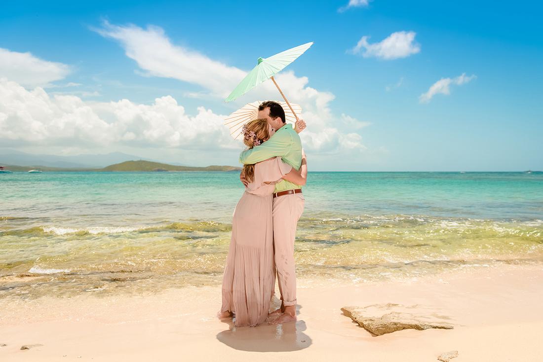 Olga & Javier 20th wedding anniversary-En altamar- Cayo Icacos-Fajardo-139