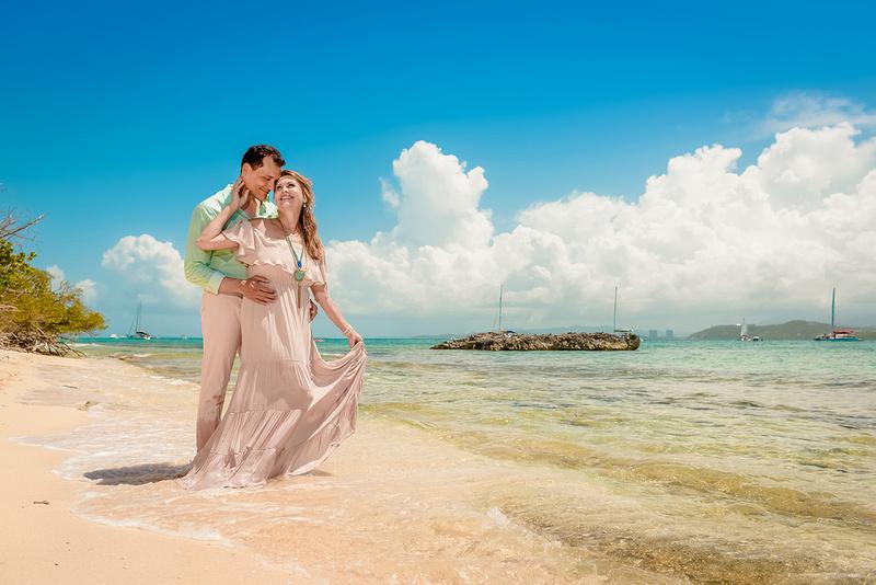 Olga & Javier 20th wedding anniversary-En altamar- Cayo Icacos-Fajardo-186