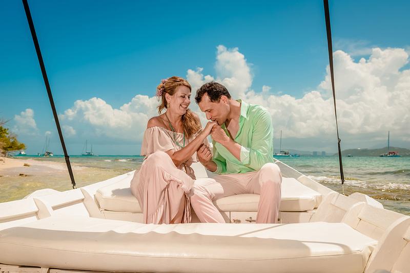 Olga & Javier 20th wedding anniversary-En altamar- Cayo Icacos-Fajardo-213