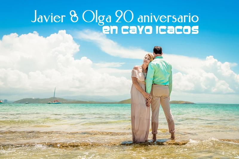 Olga & Javier 20th wedding anniversary-En altamar- Cayo Icacos-Fajardo-16