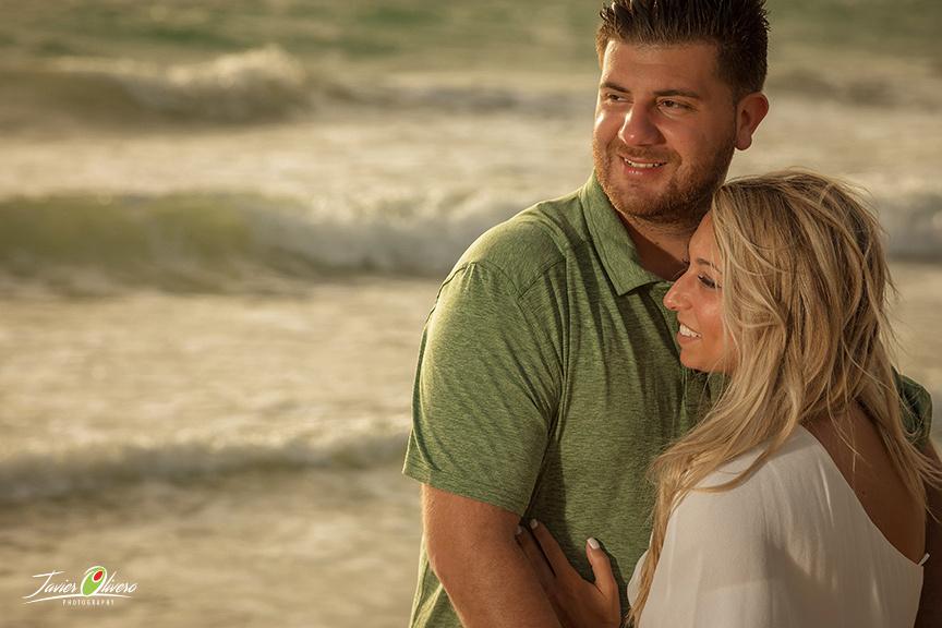 Austin-Taylor Engagement. beach picture @ St Regis Bahia Beach Resort, Puerto Rico