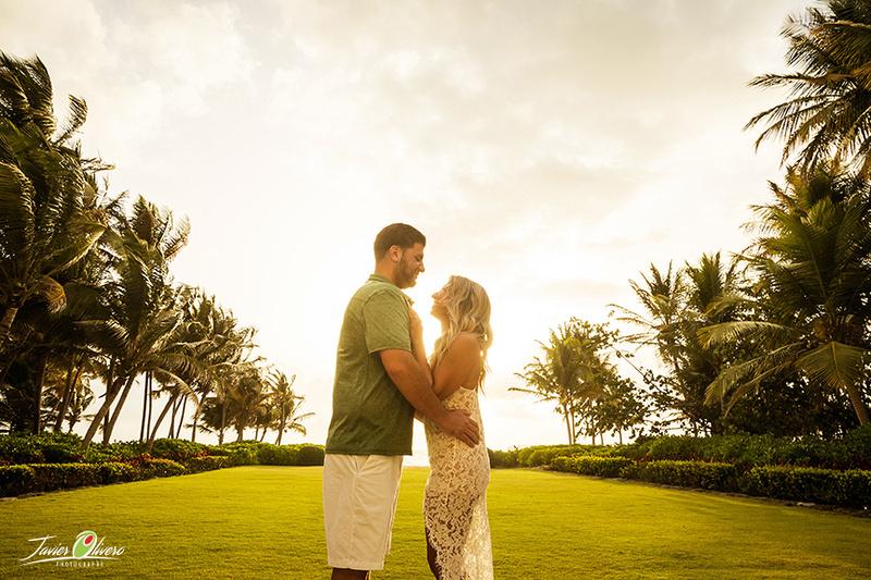 Austin-Taylor Engagement. Sunrise beach picture @ St Regis Bahia Beach Resort, Puerto Rico